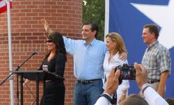 Sarah Palin & Ted Cruz